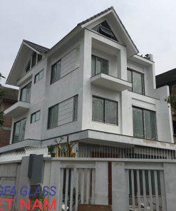 Biệt Thự cao cấp Tịa Hà Đông, Hà Nội sử dụng cửa nhôm XINGFA - Copy