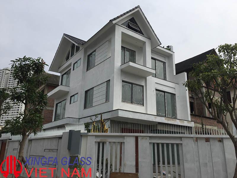 Biệt Thự cao cấp Tại Hà Đông, Hà Nội sử dụng cửa nhôm XINGFA chính hãng