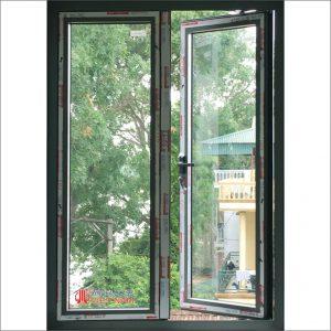 Cửa sổ mở quay nhôm xingfa hệ 55