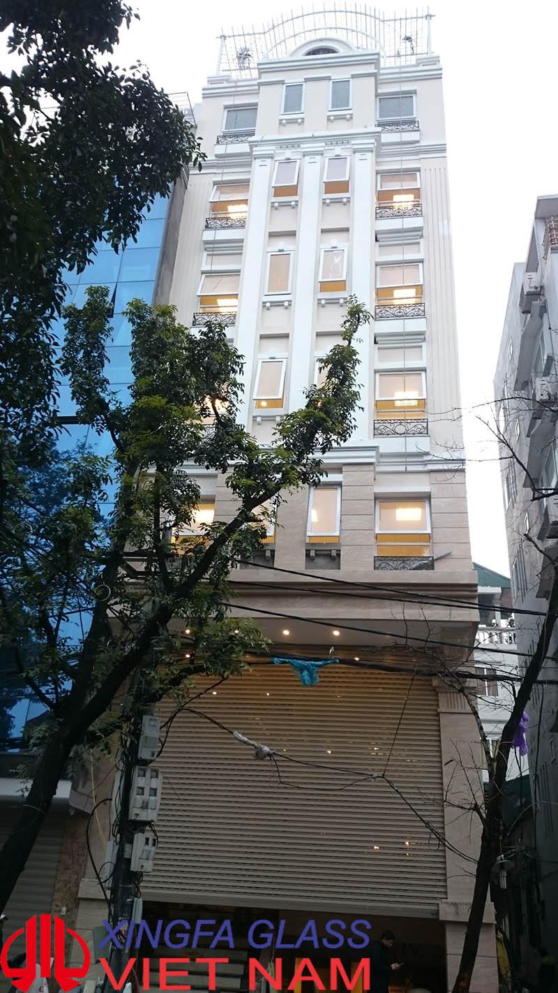 Tòa nhà văn phòng 14 Phùng Hưng, Hà Nội sử dụng cửa nhôm XINGFA nhập khẩu