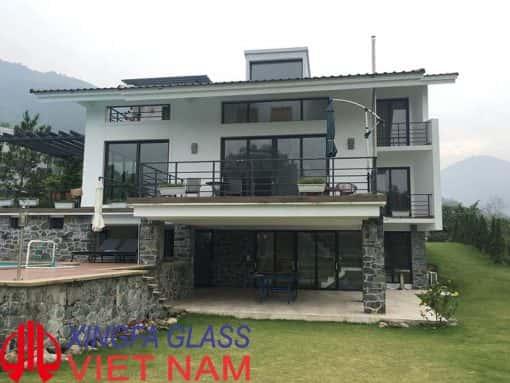 Cửa nhôm XINGFA tai biệt thự sân Gof Tam Đảo Vĩnh Phúc