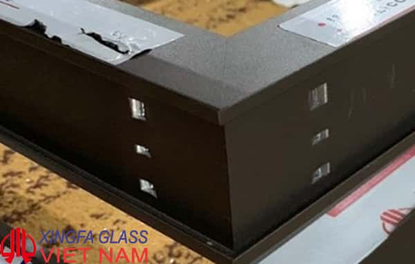 Mẫu cửa nhôm XINGFA sử dụng công nghệ ép góc 3 dao đạt chuẩn Quốc Tế