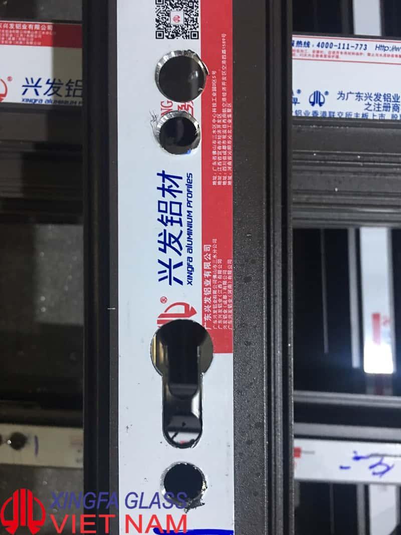 Mẫu phay hệ thống khóa đạt chuẩn 100% bằng máy dập chuyên dụng CNC