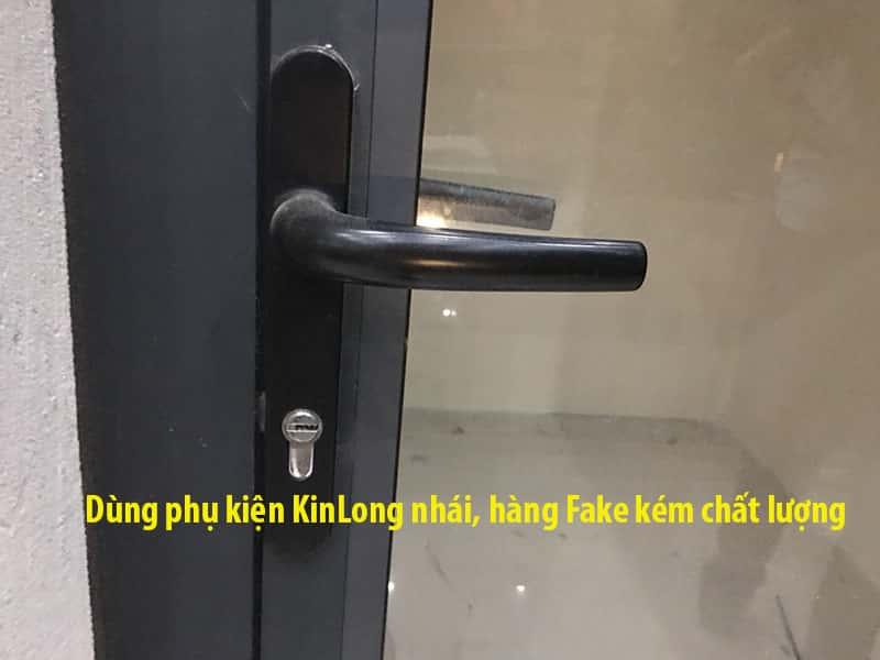 Phụ kiện KinLong hàng nhái, Fake kém chất lượng