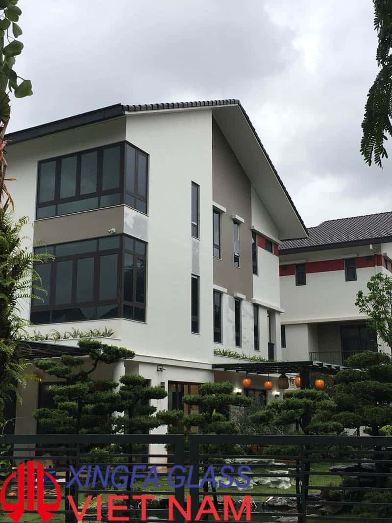 Công trình Biệt thự Gamuda sử dụng cửa nhôm Xingfa chính hãng