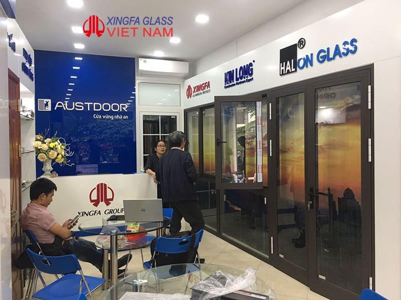 Showroom cửa nhôm xingfa